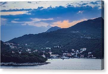 Dubrovnik Sunset II Canvas Print by Matti Ollikainen