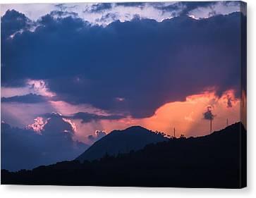 Dubrovnik Sunset Canvas Print by Matti Ollikainen