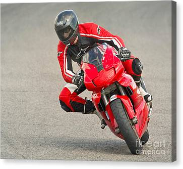 Ducati 900 Supersport Canvas Print by Jerry Fornarotto