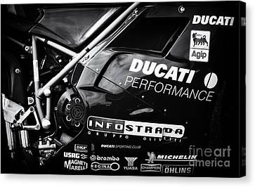 Ducati Performance Canvas Print