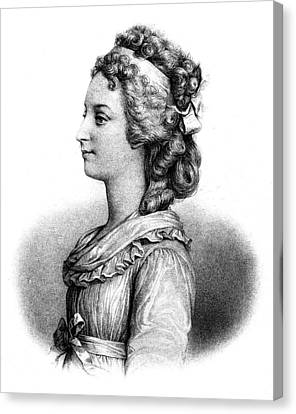 Duchess Of Angoul�me (1778-1851) Canvas Print by Granger