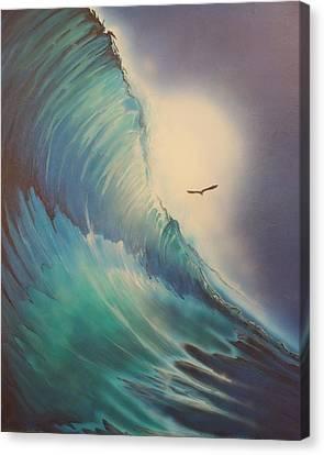 Duck Dive Canvas Print