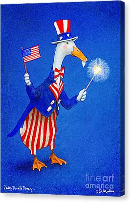 Ducky Doodle Dandy... Canvas Print by Will Bullas