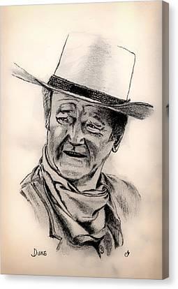 Celeb Canvas Print - Duke by Mountain Dreams