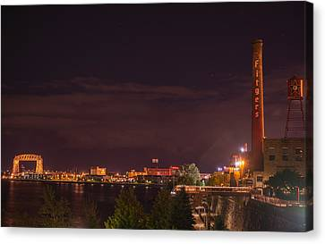 Duluth At Night II Canvas Print