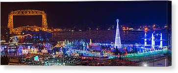 Duluth Christmas Lights Canvas Print