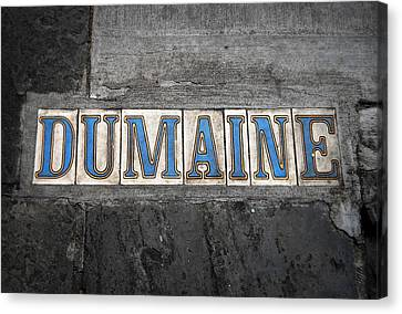 Dumaine Canvas Print by Beth Vincent