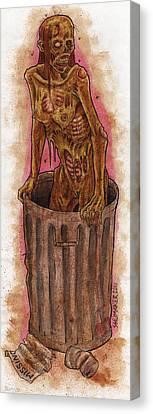 Dumped Canvas Print by David Shumate