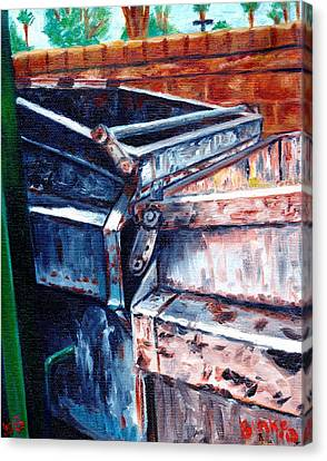 Dumpster No.8 Canvas Print by Blake Grigorian
