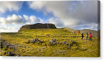 Dun Aengus - Ancient Irish History Canvas Print by Mark E Tisdale