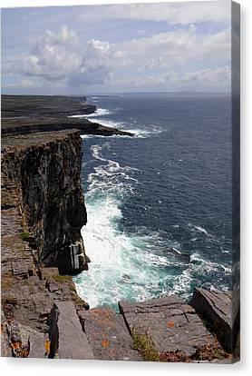 Dun Aengus Cliffs Canvas Print
