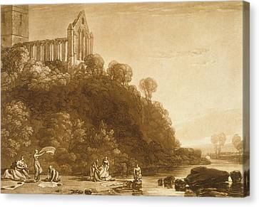 Dunblane Abbey Canvas Print by Joseph Mallord William Turner