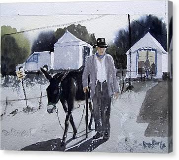 D'une Autre Epoque  Canvas Print by Dominique Serusier