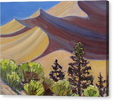 Dune Field Canvas Print by Susan McCullough