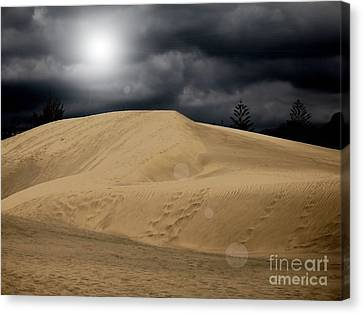 Dune Canvas Print by Flow Fitzgerald