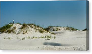 Dune Sign Canvas Print by Denis Lemay