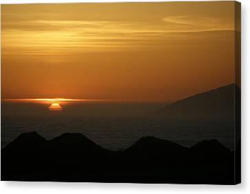 Dune Sunset 1 Canvas Print