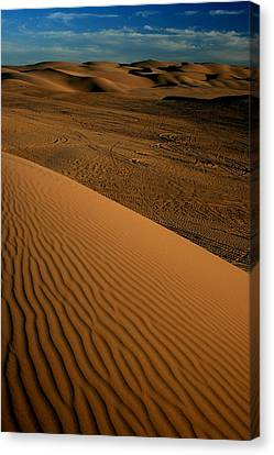 Dune Sunset Canvas Print by Scott Cunningham