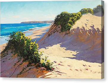Dunes Central Coast Canvas Print by Graham Gercken