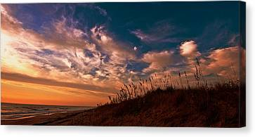 Canvas Print featuring the photograph Dunes by John Harding