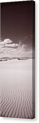 Dunes, White Sands, New Mexico, Usa Canvas Print by Panoramic Images