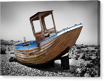 Boat Four Canvas Print by Mark Rogan