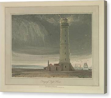 Dungeness Light House Canvas Print by British Library