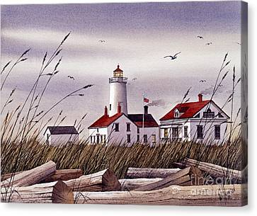 Dungeness Lighthouse Canvas Print
