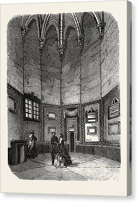 Dungeon Of Vincennes Canvas Print