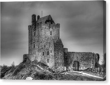 Canvas Print featuring the photograph Dunguaire Castle Galway Ireland by JRP Photography
