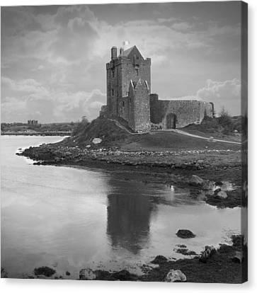 Dunguaire Castle - Ireland Canvas Print by Mike McGlothlen