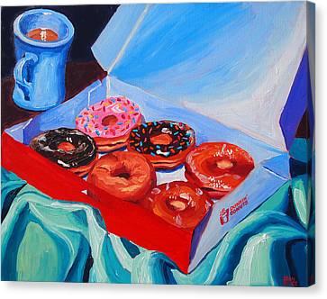 Dunkin Donuts Canvas Print by Sean Boyce
