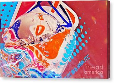 Fast Food Canvas Print - Dunkin Ice Coffee 38 by Sarah Loft