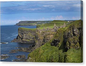 Dunluce Castle Canvas Print by Betsy Knapp