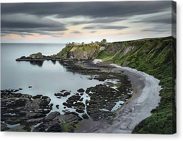 Dunnottar Twilight Canvas Print
