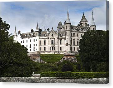 Canvas Print featuring the photograph Dunrobin Castle Golspie Scotland by Sally Ross