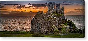Dunure Castle Ayrshire Scotland Canvas Print