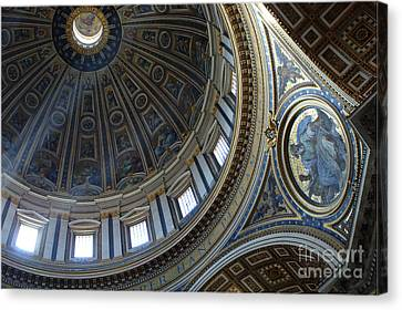 Duomo St Peters 2 Canvas Print by Bob Christopher