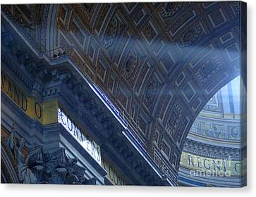 Duomo St Peters 3 Canvas Print by Bob Christopher