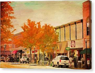 Durango Autumn Canvas Print by Jeff Kolker