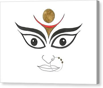 Durga IIi Canvas Print by Kruti Shah