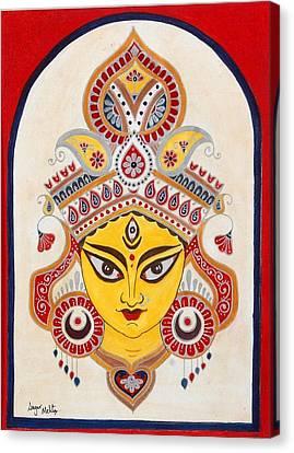 Durga Canvas Print by Sagar M Mehta