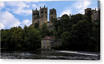 Durham Cathedral And Fulling Mill Canvas Print by Trevor Kersley