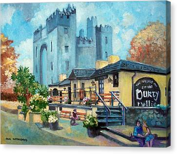 Durty Nellies  Co Clare Ireland Canvas Print by Paul Weerasekera