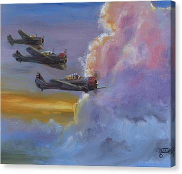 Dusk Flight Canvas Print by Christopher Jenkins