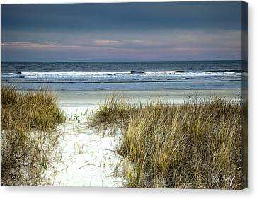 Dusk In The Dunes Canvas Print by Phill Doherty