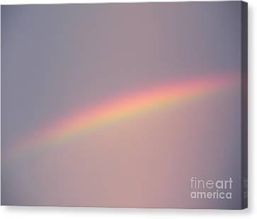 Dusk Rainbow Canvas Print by Joseph Baril