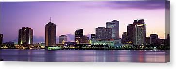 Louisiana Canvas Print - Dusk Skyline, New Orleans, Louisiana by Panoramic Images