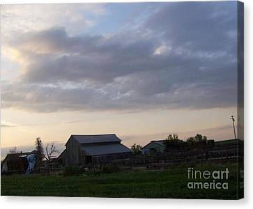 Canvas Print featuring the photograph Dusk To Dawn by Bobbee Rickard