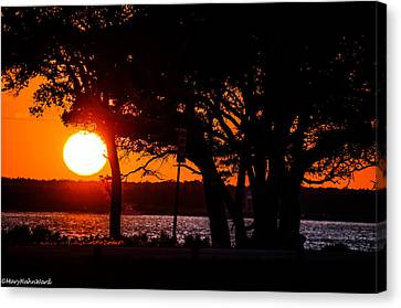 Dusky Cape Fear River  Canvas Print